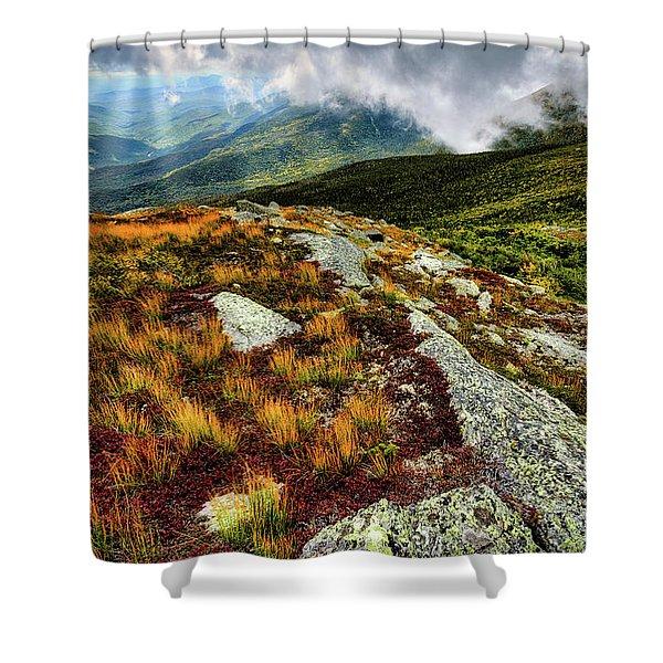 Mt. Washington Nh, Autumn Rays Shower Curtain