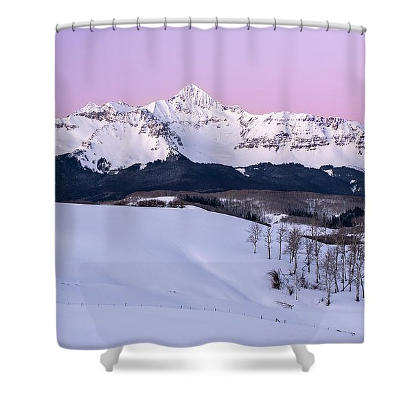 Mt Wilson Shower Curtain