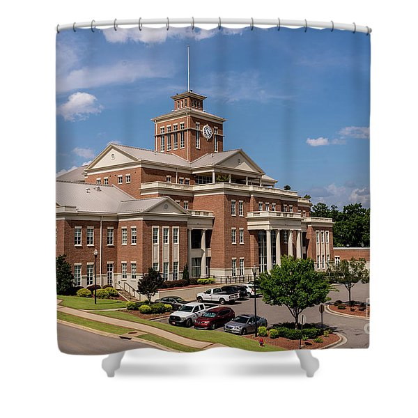 Municipal Building - North Augusta Sc Shower Curtain