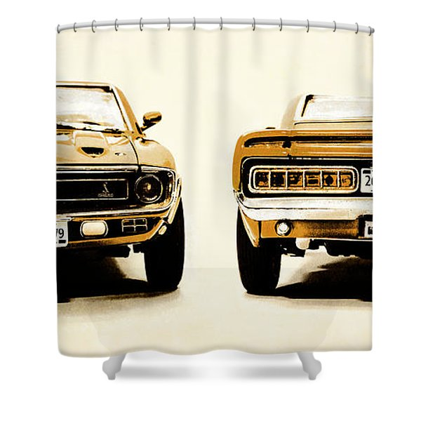 Muscle Machine Shower Curtain