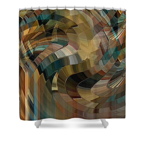 Mushrooms Forever Shower Curtain