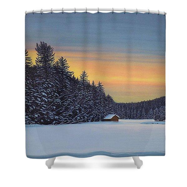 Muskoka Winter Shower Curtain