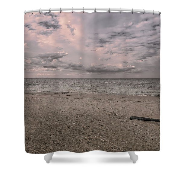 Muted But Majestic Shower Curtain