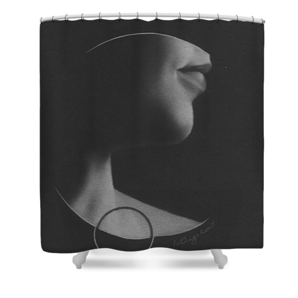 Muted Shadow No. 7 Shower Curtain