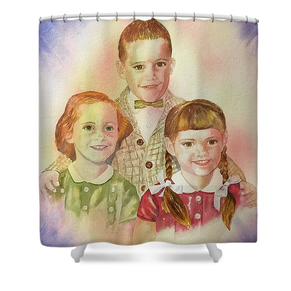 The Latimer Kids Shower Curtain