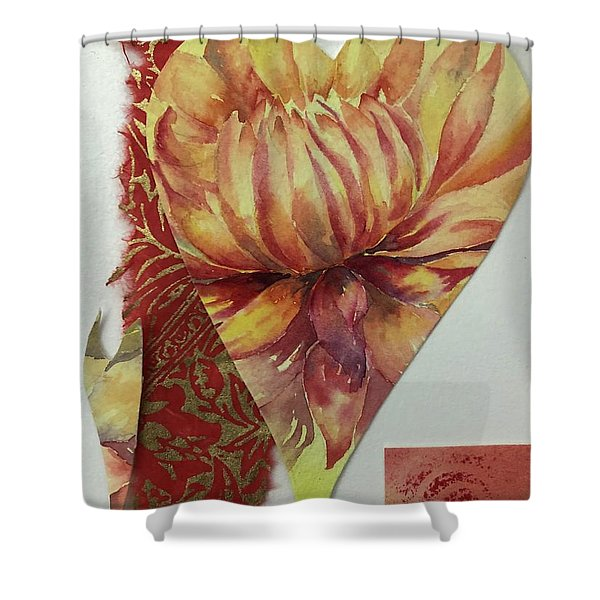 My Valentine Two Shower Curtain