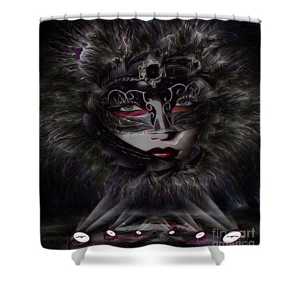 Mystica Shower Curtain