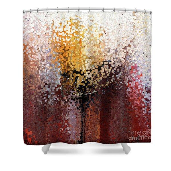 Nahum 1 7. A Stronghold Shower Curtain