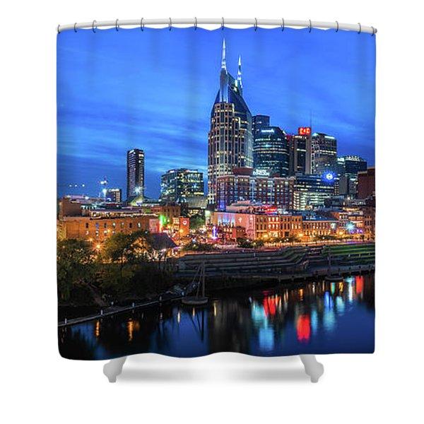 Nashville Night Shower Curtain