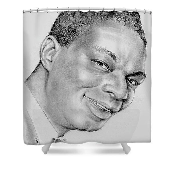 Nat King Cole Shower Curtain