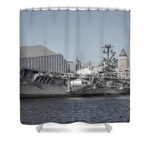 National Historic Landmark Journey Of A Lifetime Shower Curtain