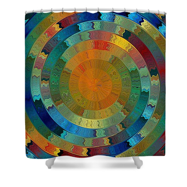 Native Sun Shower Curtain