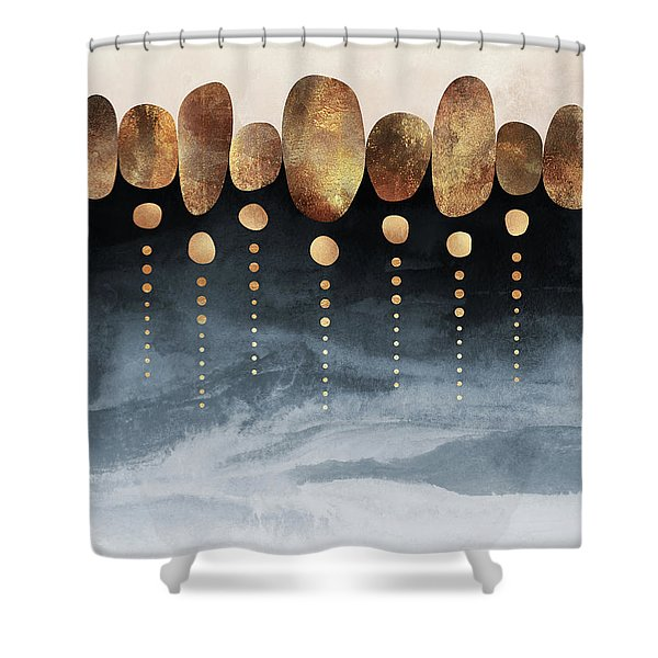 Natural Abstraction Shower Curtain