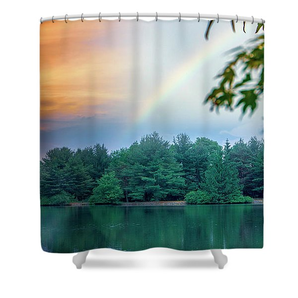 Natural Composites Shower Curtain