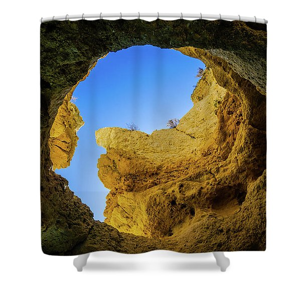 Natural Skylight Shower Curtain