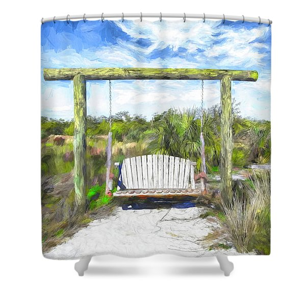 Nature Swing Shower Curtain
