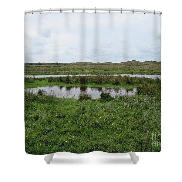 Near De Muy On Texel Shower Curtain