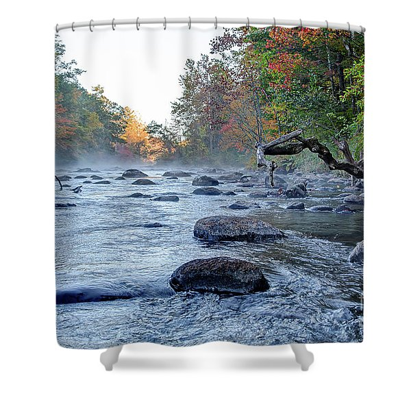 Near Riverton Shower Curtain