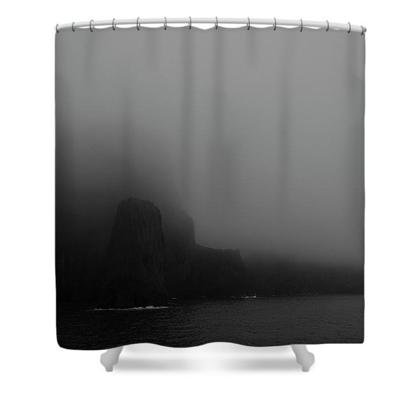 Near The End Of The World Shower Curtain