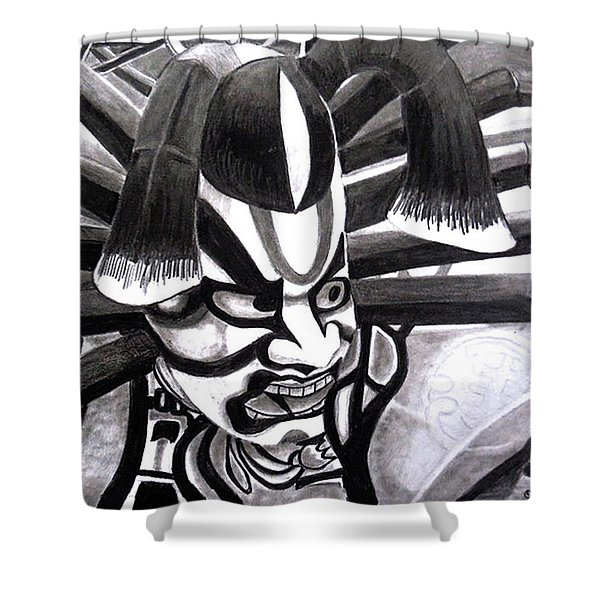 Nebuta Shower Curtain