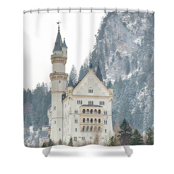 Neuschwanstein Shower Curtain
