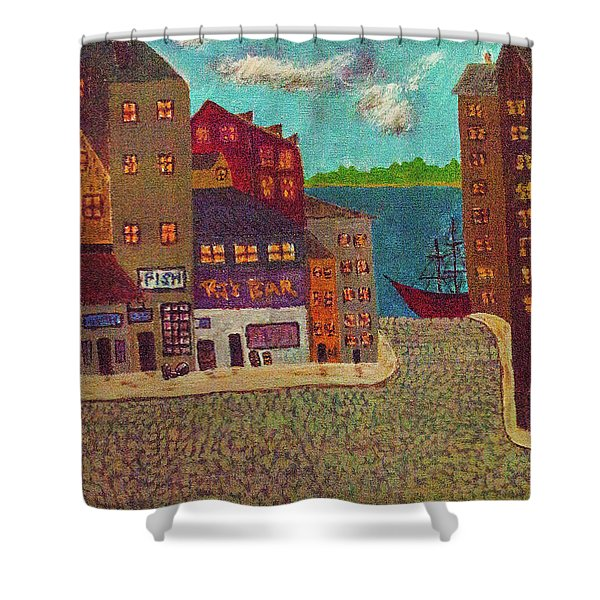 New Bedford Shower Curtain