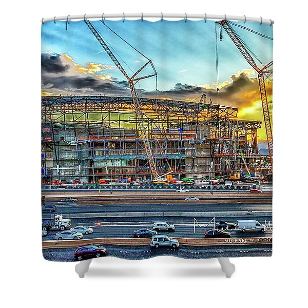 New Home For Las Vegas Raiders Shower Curtain