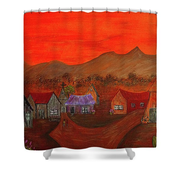 New Mexico Dreaming Shower Curtain