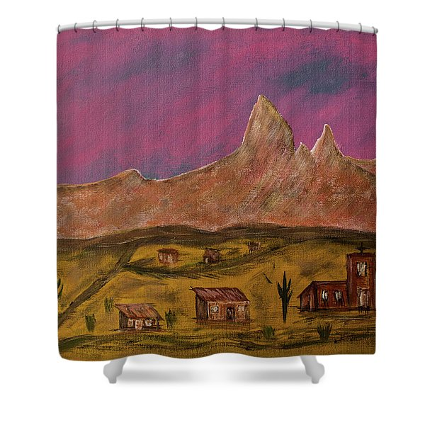 New Mexico True Shower Curtain