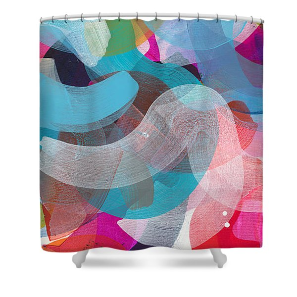 New People Shower Curtain
