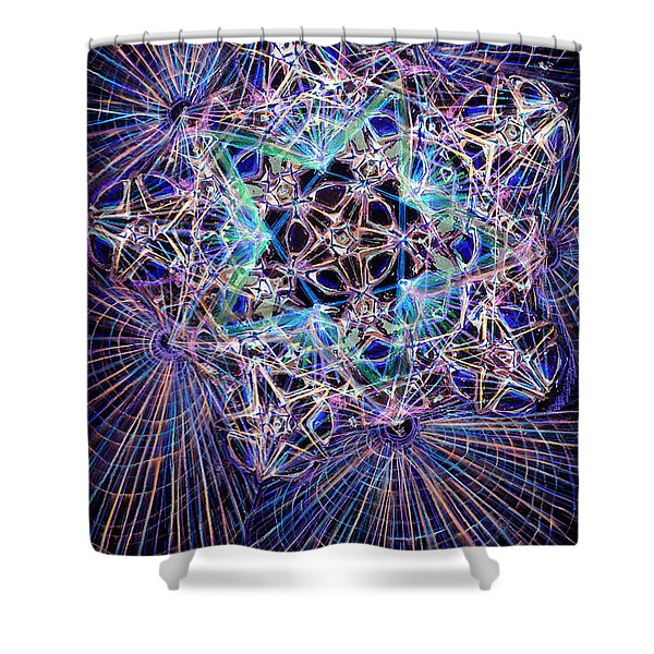 Night Star Shower Curtain