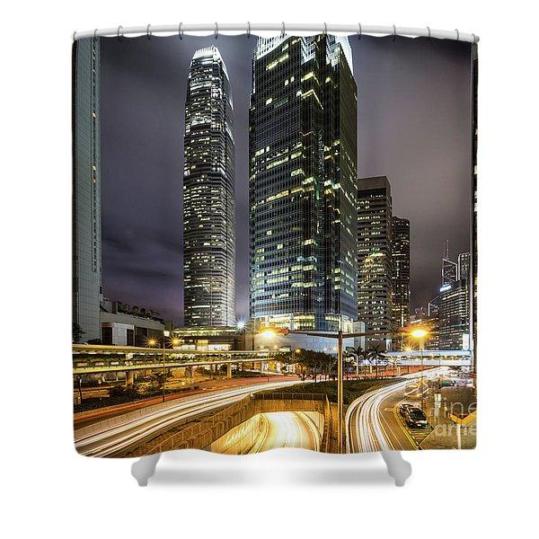 Nights Of Hong Kong Shower Curtain