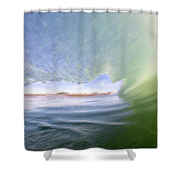 No Escape Shower Curtain