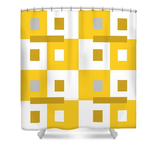 No Thinking II Shower Curtain