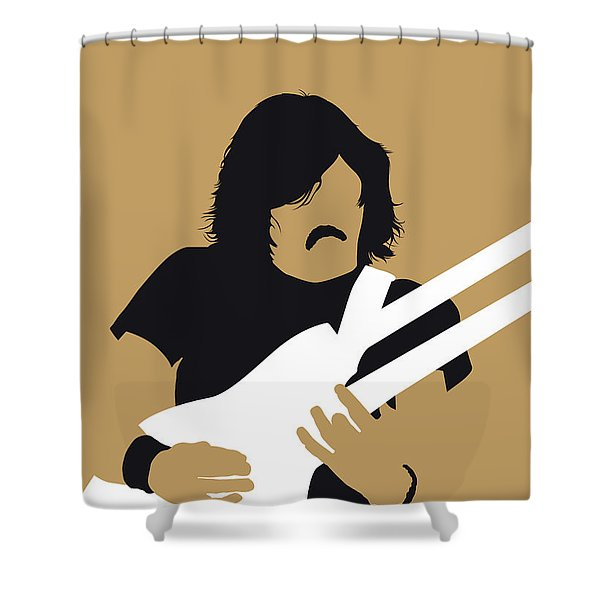 No230 My The Eagles Minimal Music Poster Shower Curtain