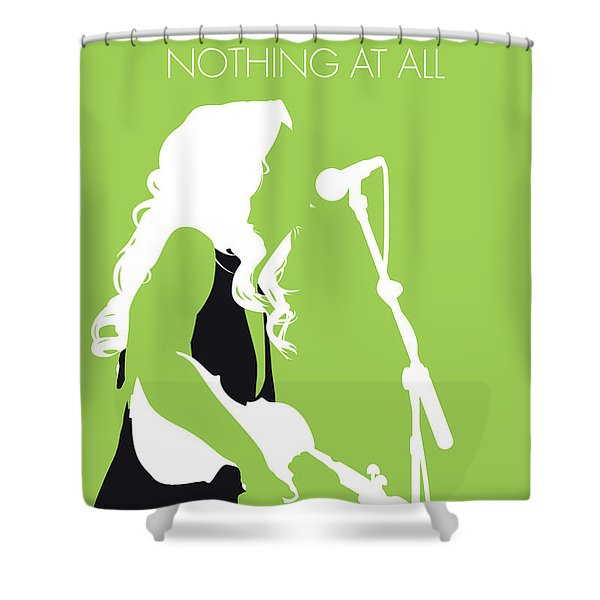 No276 My Alison Krauss Minimal Music Poster Shower Curtain