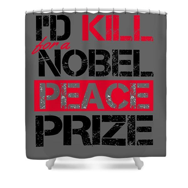 Nobel Prize Shower Curtain