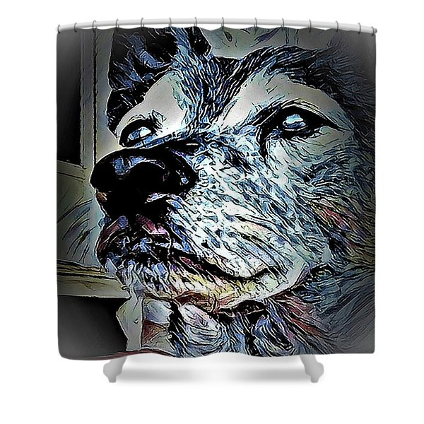 Noble Beast Shower Curtain