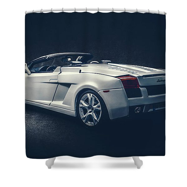 Nocturnal Beast Shower Curtain
