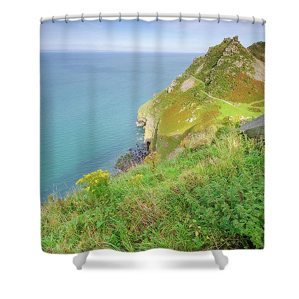 North Devon Views Shower Curtain