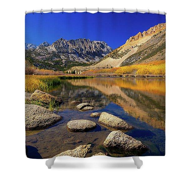 North Lake Shower Curtain