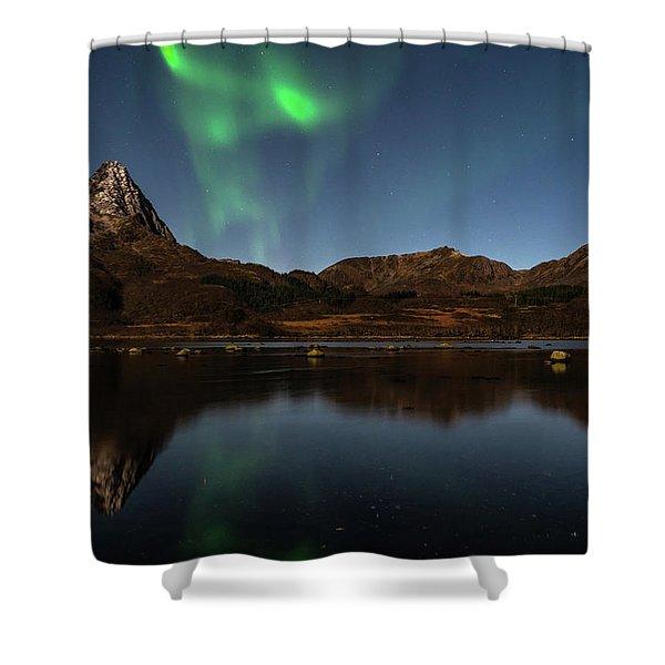 Northern Lights Shower Curtain