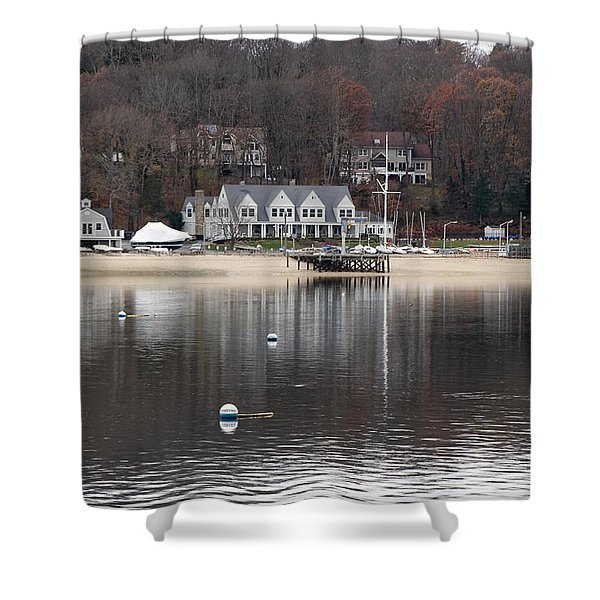 Northport Harbor Shower Curtain