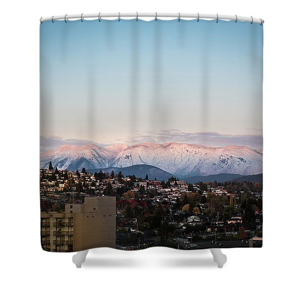 Northshore Winterscape Shower Curtain