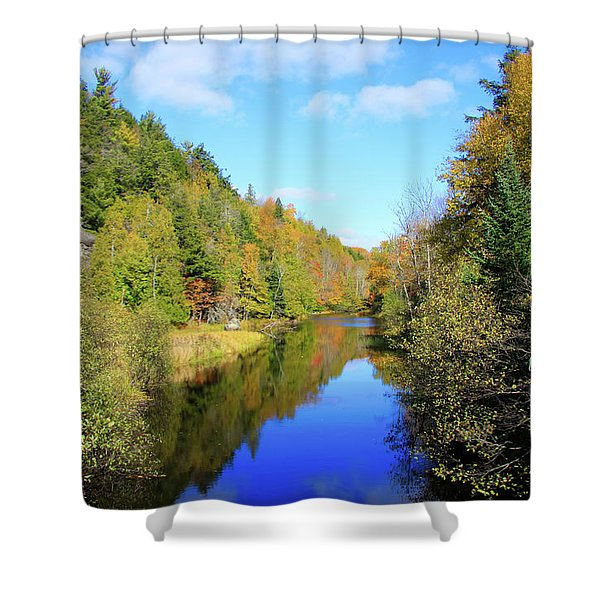 Northwoods Reflection Shower Curtain