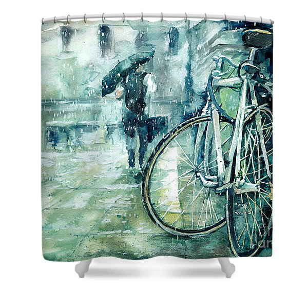 Not Drunk, Just Tired Shower Curtain