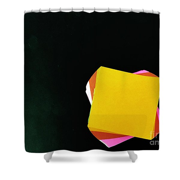 Note Worthy Shower Curtain
