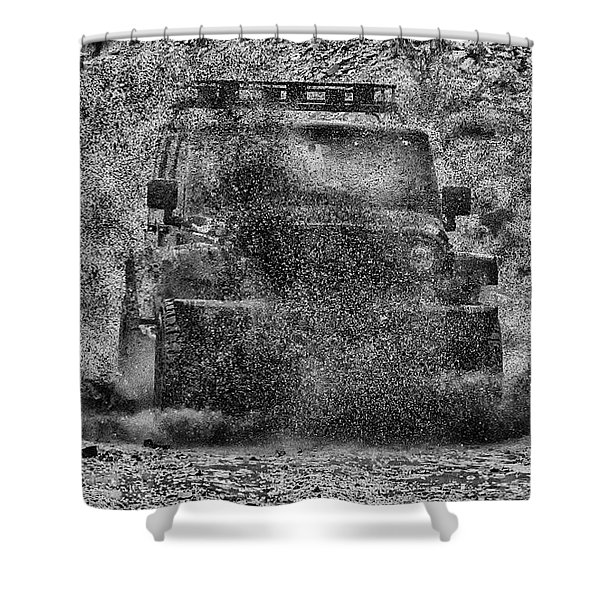 Nothing Like A Jeep Shower Curtain