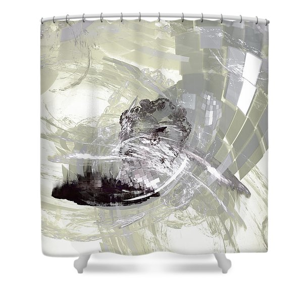 Nuclear Power Shower Curtain