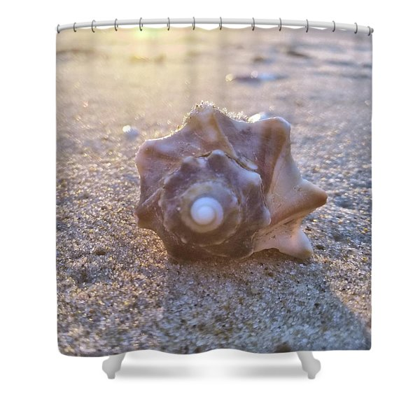 Nuclear Whorl Shower Curtain